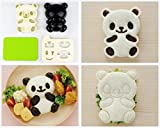 Product review for Excelity® Cute Panda Bear DIY Sandwich & Rice Cutter, Cake Bread Toast Mold Maker