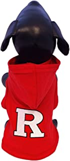 product image for NCAA Rutgers Scarlet Knights Cotton Lycra Hooded Dog Shirt