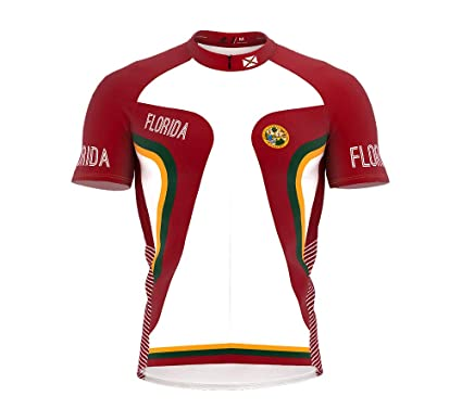15e2eb30f Amazon.com  ScudoPro Florida Bike Short Sleeve Cycling Jersey for ...