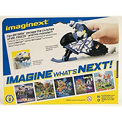 Fisher Price Imaginext DC Super Friends Mr. Freeze Gift Set: Toys & Games
