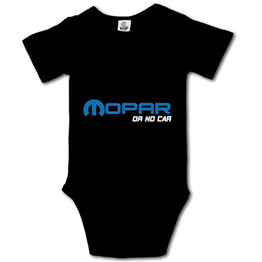 47ef807e713a Amazon.com: Shijingshan Mopar No Car Baby Onesies Boys Girls Bodysuit  Newborn Infant Jumpsuit: Clothing