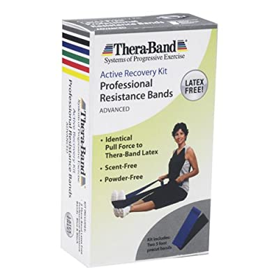 Thera-Band Thera-Band Latex Exercise Band Pack - Heavy from Thera-Band
