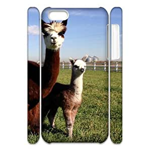 VNCASE Lama Pacos Phone Case For Iphone 4/4s [Pattern-1]