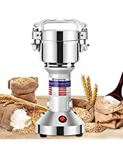 Moongiantgo 150g Grain Grinder Mill Electric Spice Grinder 950W Stainless Steel High-speed Dried Cereal Grinding Machine Powder Machine 50-300 Mesh 110V Pulverizer Dry Grinder US Plug