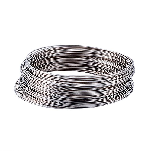 - Kissitty Approx. 100 Loops Steel Coil Memory Beading Wire 2-1/2
