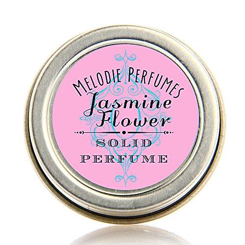 Jasmine Flower essential oil solid perfume. Natural fragrance, long lasting, (Jasmine Solid Perfume)