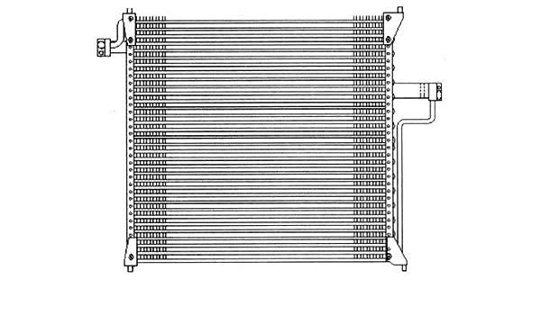 A//C Condenser APDI 7014770