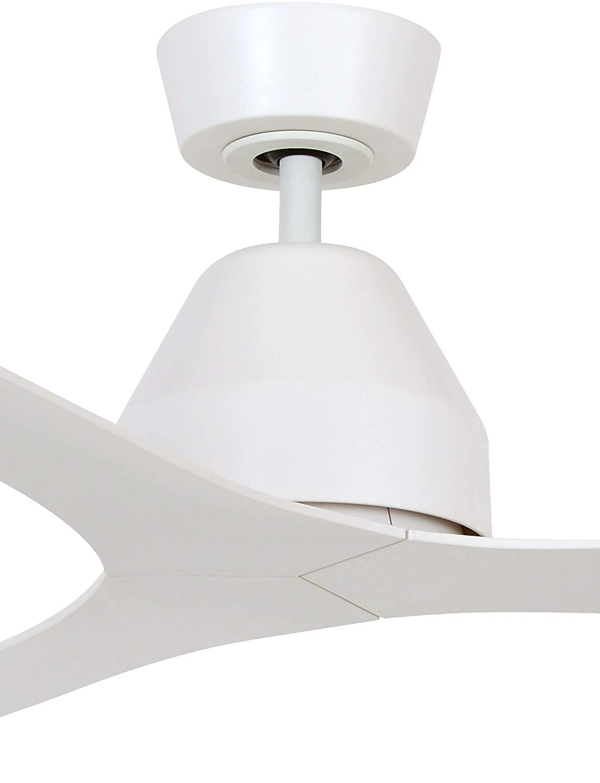 35 W Lucci Air Whitehaven ABS Ventilador de techo con mando a distancia 142 cm de di/ámetro color blanco