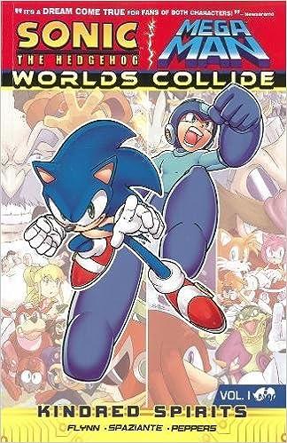 amazon com sonic mega man worlds collide 1 0884917774526