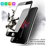 The Wolf 5D 9H Hardness Edge-to-Edge Anti - Scratch Tempered Glass for Apple iPhone 6S / 7/7 Plus / 8/8 Plus (Black) (5.5 INCH, iPhone 7 Plus)