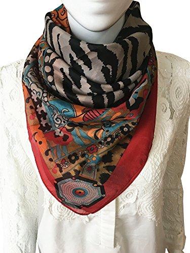 Nita J&K Womem's 100% Voile Silk Feeling - Modern Scarf Shopping Results