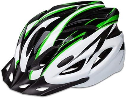 SIQIMI - Casco de Seguridad para Bicicleta de Carretera, Casco Ajustable: Amazon.es: Deportes y aire libre