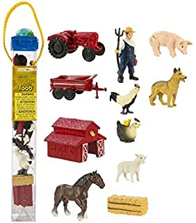 Safari Ltd Holstein Cows - Good Luck Minis Set Of 10 Sturdy Construction