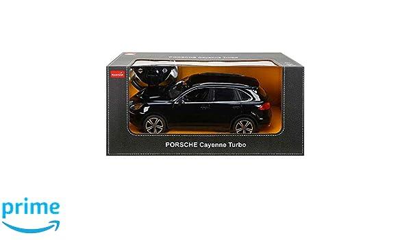 RASTAR massG 42900 - Porsche Cayenne Turbo, 1: 14, Radio Control Juguete Auto: Amazon.es: Juguetes y juegos