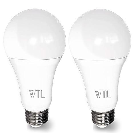 3 Way Led Light Bulb Daylight 500 1600 2100lm High Lumens50 100