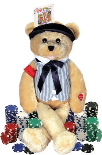 "Chantilly Lane Musical Bear "" Sings "" The Gambler Song"