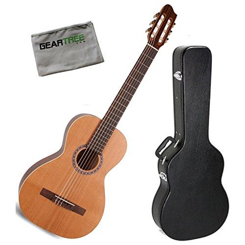 La Patrie 45440 Motif Classical Guitar w/Case and Geartree Cloth (La Patrie Classical Guitars)