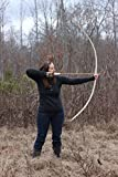 58″ 40lb Traditional Hickory Longbow Right Handed