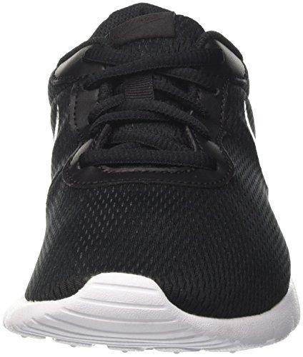 Nike Tanjun (GS) - Zapatillas Para Niño, Multicolor Negro (Black/mtlc Pewter/white 014)