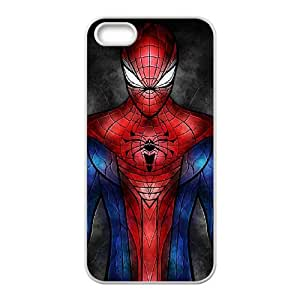 iPhone 4 4s Cell Phone Case White Spiderman IKW Back Personalized Cell Phone Case