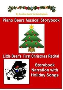 Piano Bears Musical Storybook - Little Bear's First Christmas Recital DVD