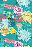 Blue Flowers & Bird Cage Address Book (Address Books) (Volume 6)
