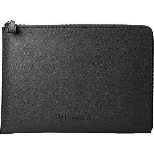 HP Spectre 13-inch Laptop Leather Sleeve (Dark Ash Silver with Copper-finished Hardware) by HP