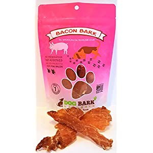Bacon Bark – As Natural As It Gets – 1 Ingredient!!! Sourced and Made USA, Portion Of All Proceeds Donated To Dogs In Need