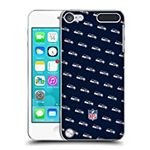 Official NFL Patterns 2017/18 Seattle Seahawks Hard Back Case for Apple iPod Touch 4G 4th Gen