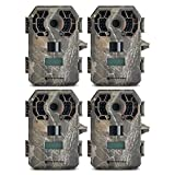 Stealth Cam G42NG No-Glo Trail Game Camera (4- Pack Bundle)