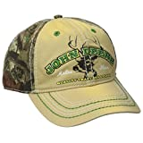 John Deere Men's Mossy Oak Back Cap, Yellow, One Size