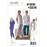 Kwik Sew K2807 Scrubs Sewing Pattern, Size XS-S-M-L-XL by KWIK-SEW PATTERNS