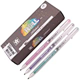jelly glitter pens - Sakura Xpgb 12-piece Gelly Roll Assorted Colors Stardust Galaxy Pen Gel Ink Bold Sparkling, Bagged Pen Set of Assorted Colors