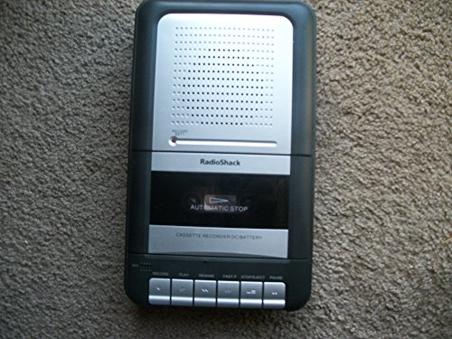Radio Shack Portable Desktop Cassette Recorder #14-109 Plus Phone recording adapter