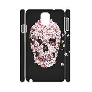 Skull DIY 3D Cover Case for Samsung Galaxy Note 3 N9000,personalized phone case ygtg557648