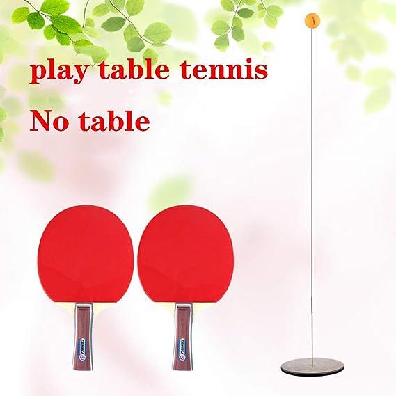XUE Elástica Suave Eje Mesa de Ping Pong Trainer elástica Bola de ...