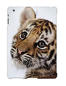 2b0d49a576 New Premium Flip Case Cover Cute Tiger Cub Skin Case For Ipad 2/3/4 As Christmas's Gift