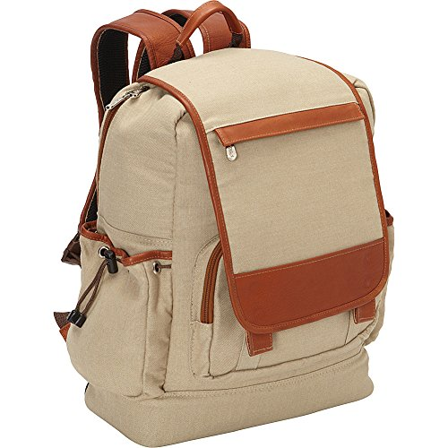 Piel Traveler Case (Piel Leather Multi-Pocket Travelers Backpack, Saddle, One Size)