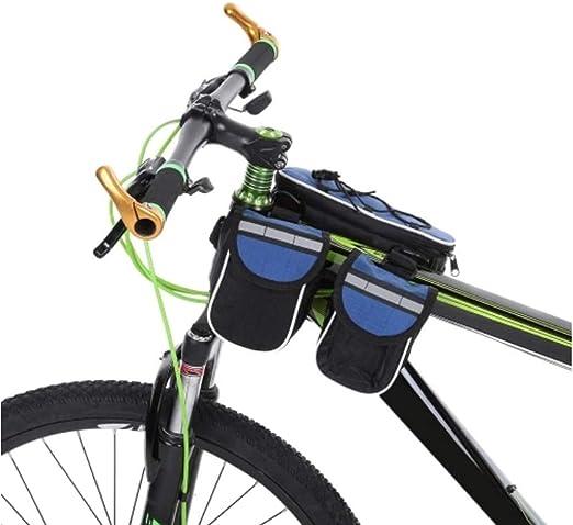 NEHARO Bolso de la Bici Bolsa Bastidor Delantero Ciclo Bicicleta ...
