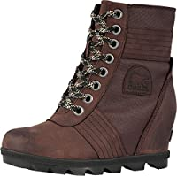 Sorel Womens Lexie Wedge Rain Boot, Cattail, Size 8.5