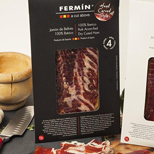 Iberico de Bellota Ham Sliced by Hand (2 oz). GLUTEN ()