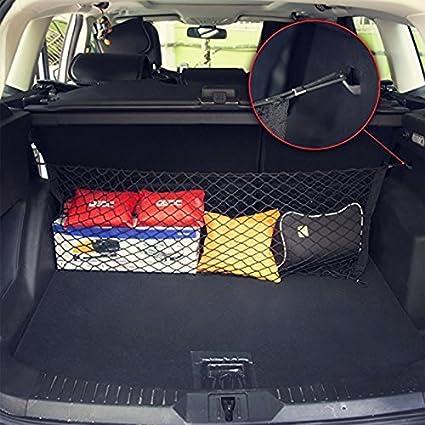 Car Trunk Storage >> Amazon Com Rurah Car Trunk Fixed Network Luggage Net Bag Rear Tail