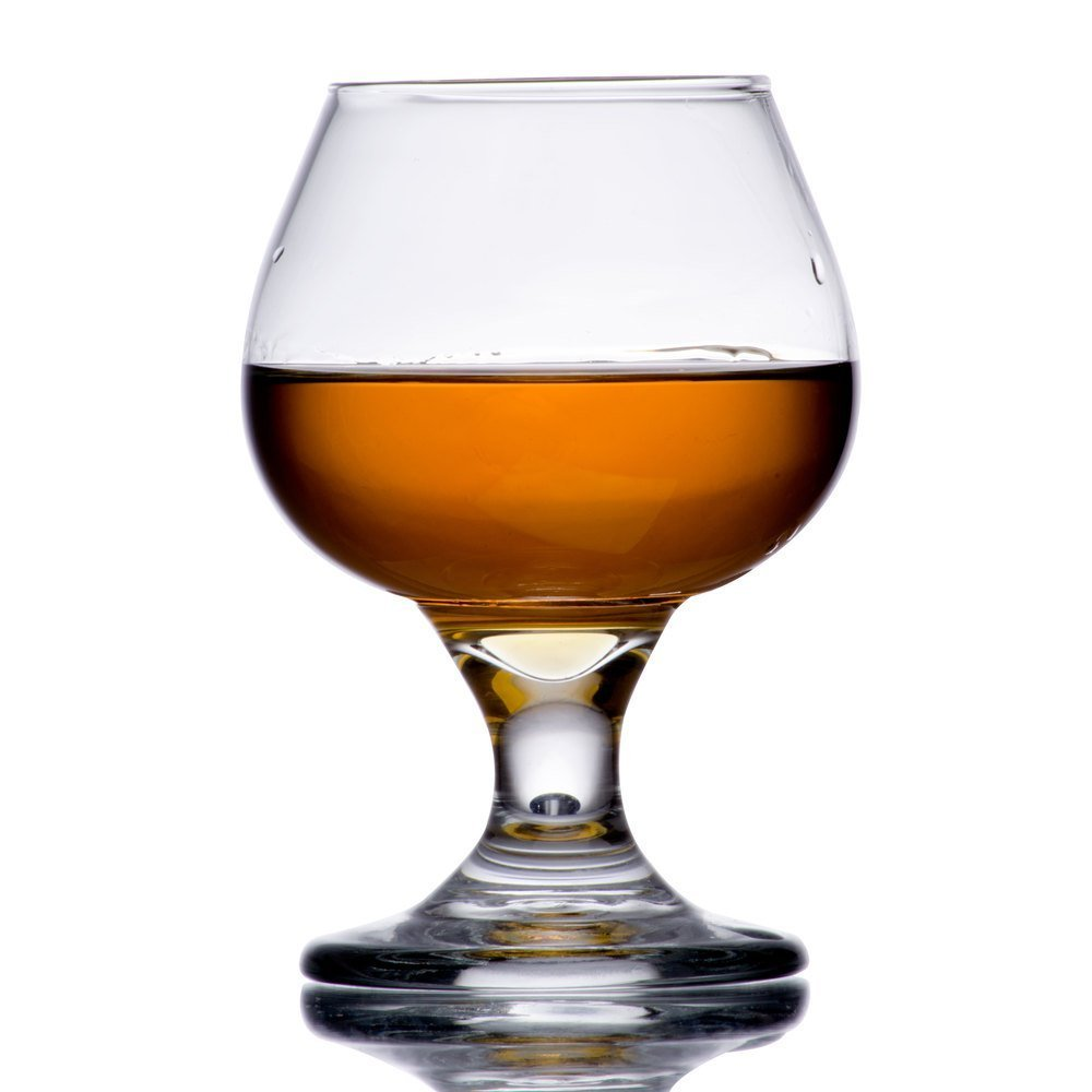 5.5 oz Brandy Glass Libbey 3702 Embassy Snifter or Cocktail Set of 1 w// Pourer