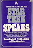 img - for STAR TREK SPEAKS book / textbook / text book