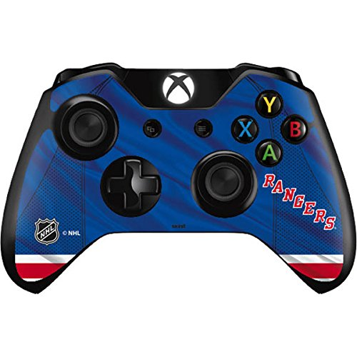 Skinit New York Rangers Home Jersey Xbox One Controller Skin - Officially Licensed NHL Gaming Decal - Ultra Thin, Lightweight Vinyl Decal Protection