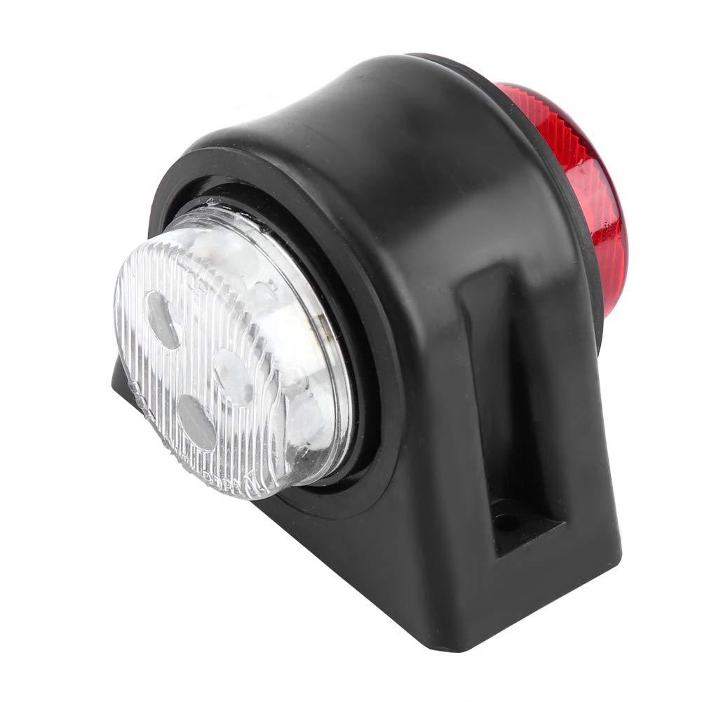 X1 QiI lu 2Pcs 12 LED 12V-24V Gomito indicatore di posizione indicatore della lampada luce laterale per camion auto