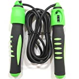 Skyland Em-9312 Skipping Rope With Counter 310 cm, Green