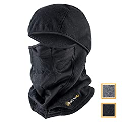AstroAI Ski Mask is made of superfine soft and comfortable polar fleece, which is thicker softer and lighter without any weird smells. It can ultimately protect you from cold wind dust sun's UV rays and any other nature's elements while keepi...