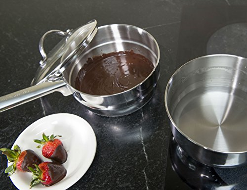 RSVP Endurance 2-Quart Stainless Steel Induction Double Boiler by RSVP International (Image #4)'