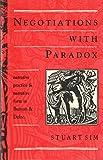 Negotiations with Paradox 9780389209379